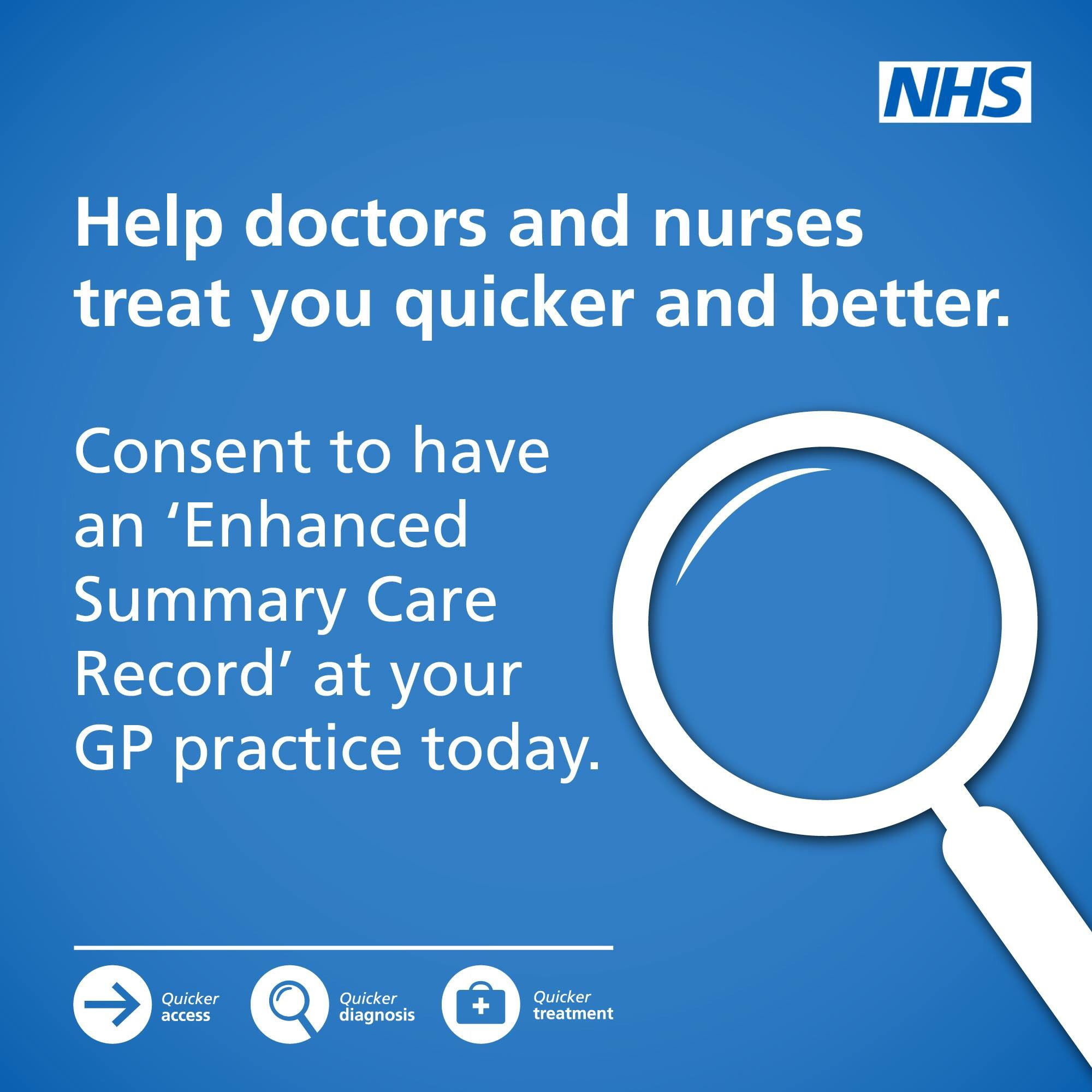 Enhanced Summary Care Record
